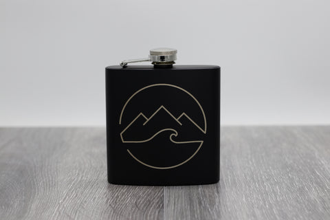 Logo Hip Flask