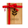 Evoolution Three Bottle Custom Cedar Gift Box