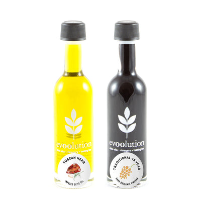 Tuscan Herb Olive Oil + Traditional 18-Year Balsamic
