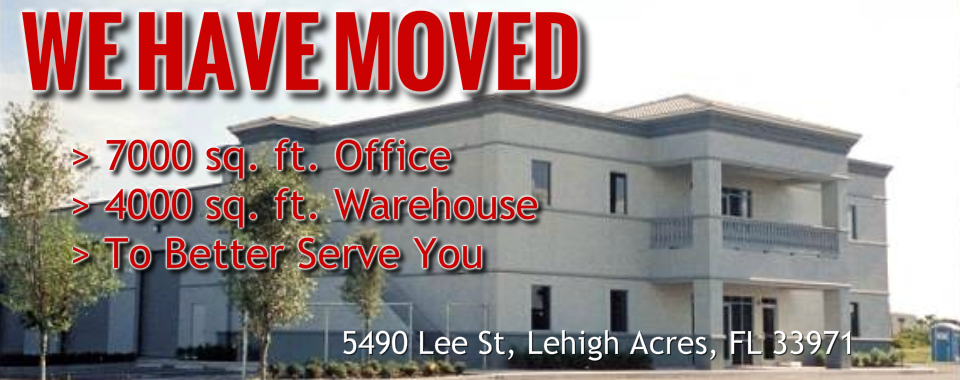 WE HAVE MOVED!!! 11000 sq. ft. to better serve you!