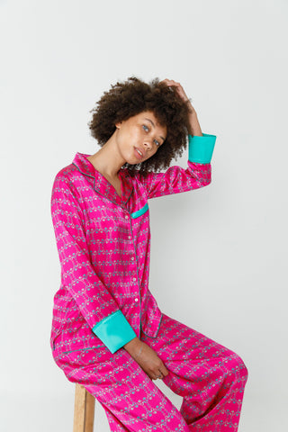 Trixie silk pyjama set