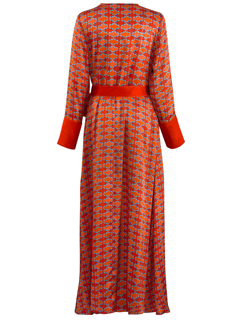 RITA RANI WRAP DRESS Wrap dress Deeba London Limited