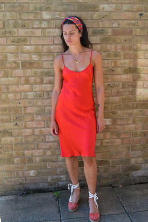 Roxy Sienna slip dress Deeba London