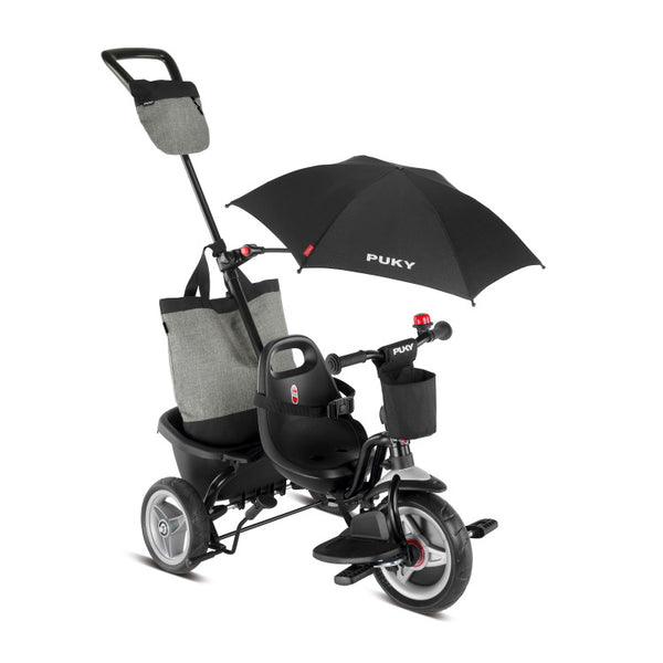 PUKY ceety Comfort Tricycle - Black
