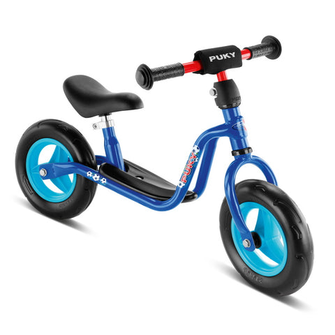 PUKY LRM Learner Balance Bike - Football Blue