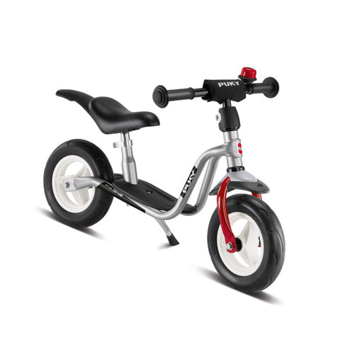 PUKY LRM Plus Learner Balance Bike - Silver Red