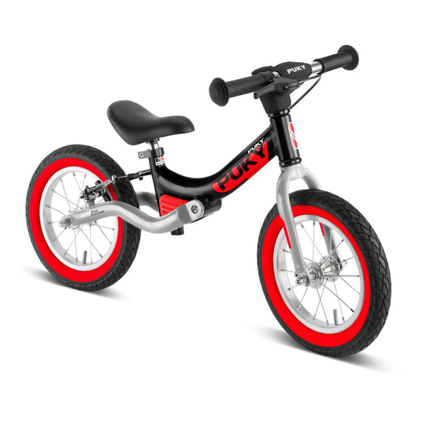 PUKY LR Ride Br Learner Balance Bike - Black Red