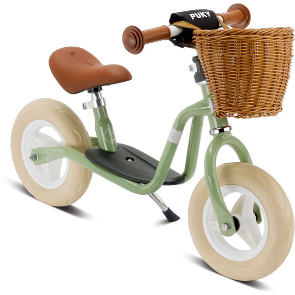 PUKY LRM Classic Learner Balance Bike - Retro Green