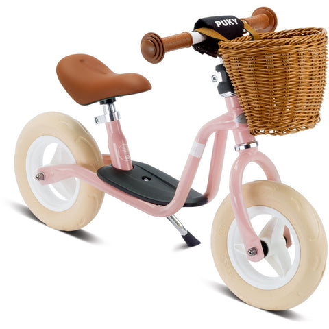 PUKY LRM Classic Learner Balance Bike - Retro Rose