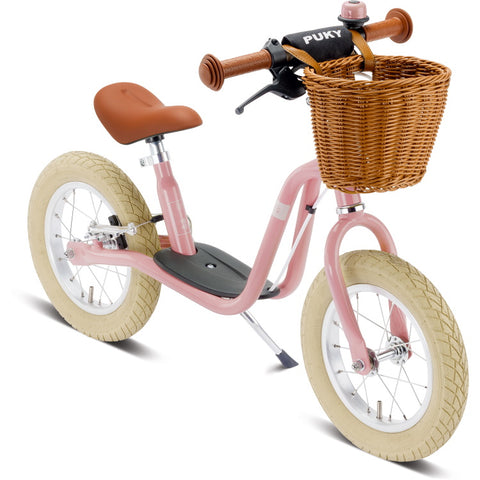 PUKY LR XL Br Classic Learner Balance Bike - Retro Rose