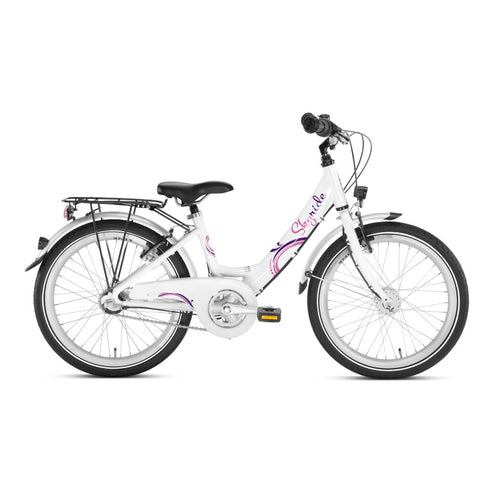 PUKY SKYRIDE 20-3 ALU Bike - White