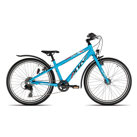 PUKY CYKE 24-8 ALU Active Bike - Fresh Blue