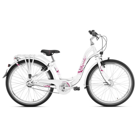 PUKY SKYRIDE 24-3 ALU Light Bike - White