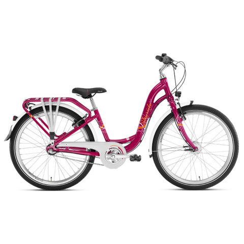 PUKY SKYRIDE 24-3 ALU Light Bike - Berry