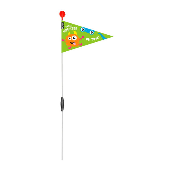 PUKY Safety Flag for Bicycles - Kiwi