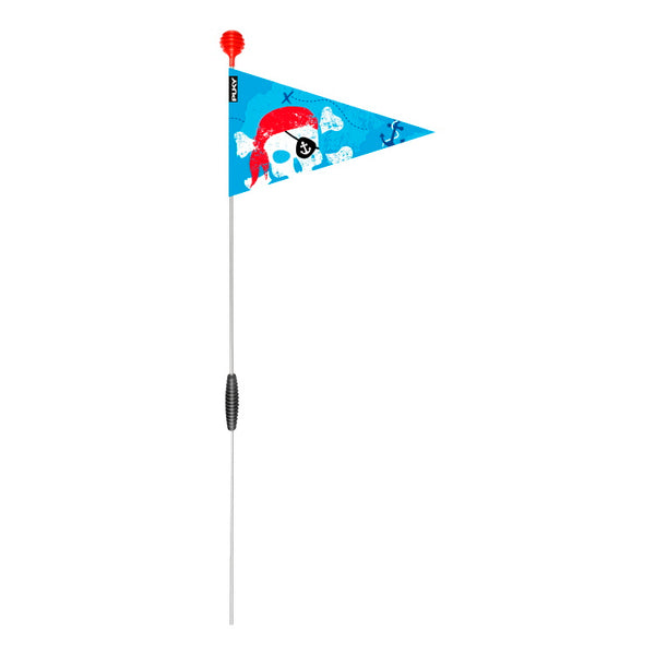 PUKY Safety Flag for Bicycles - Blue