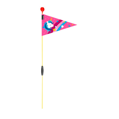 PUKY Safety Flag for Bicycles - Pink