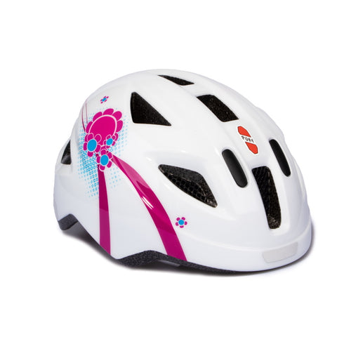 PUKY Small Children's Helmet - White Pink