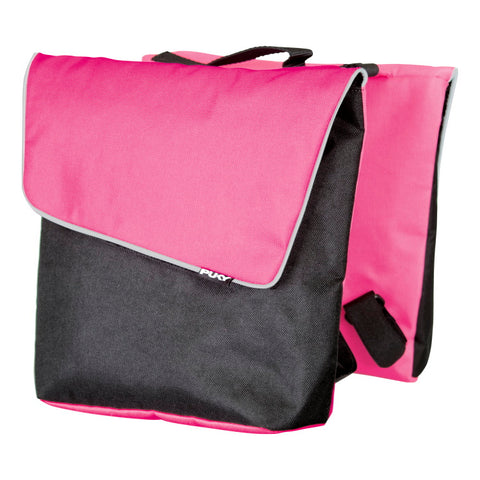 PUKY Double Panniers for Bicycles - Pink