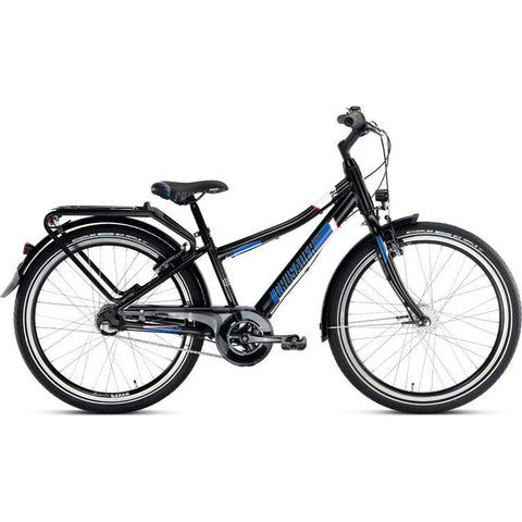 PUKY CRUSADER 24-3 ALU Light Bike - Black
