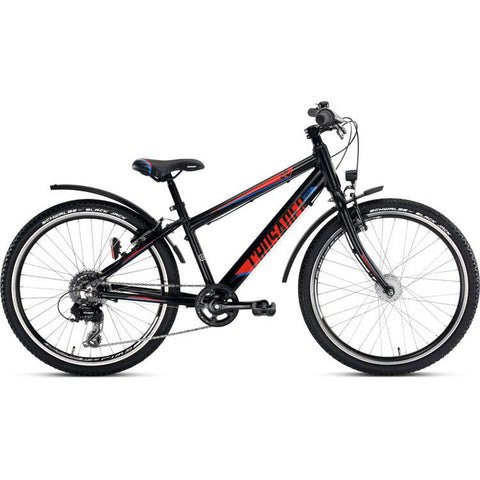 PUKY CRUSADER 24-8 ALU Light Active Bike - Black