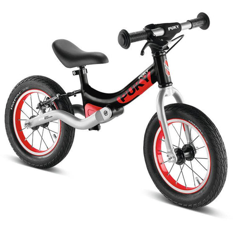 PUKY LR Ride Learner Balance Bike - Black