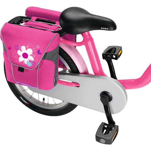 PUKY Double Panniers for Bicycles - Lovely Pink