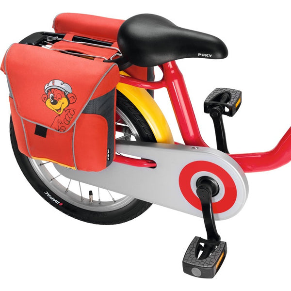 PUKY Double Panniers for Bicycles - Red