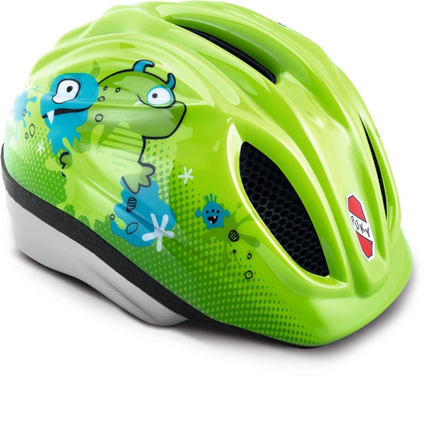 PUKY Children's Helmet - Kiwi Green