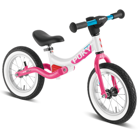 PUKY LR Splash Learner Balance Bike - White Pink