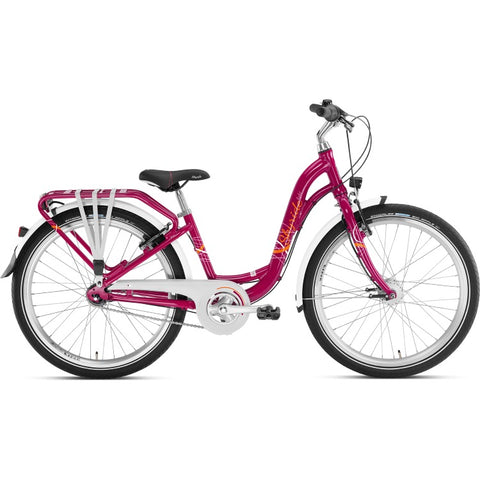 PUKY SKYRIDE 24-7 ALU Light Bike - Berry