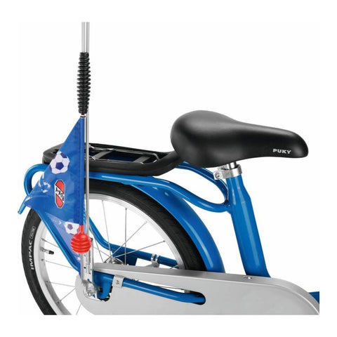 PUKY Safety Flag for Bicycles & Scooters - Football Blue