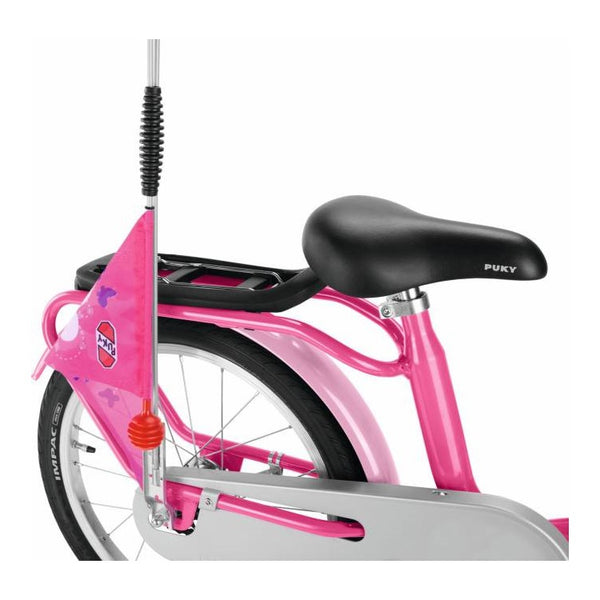 PUKY Safety Flag for Bicycles & Scooters - Pink
