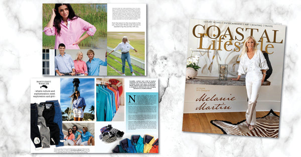 As Featured In Coastal Lifestyle Magazine