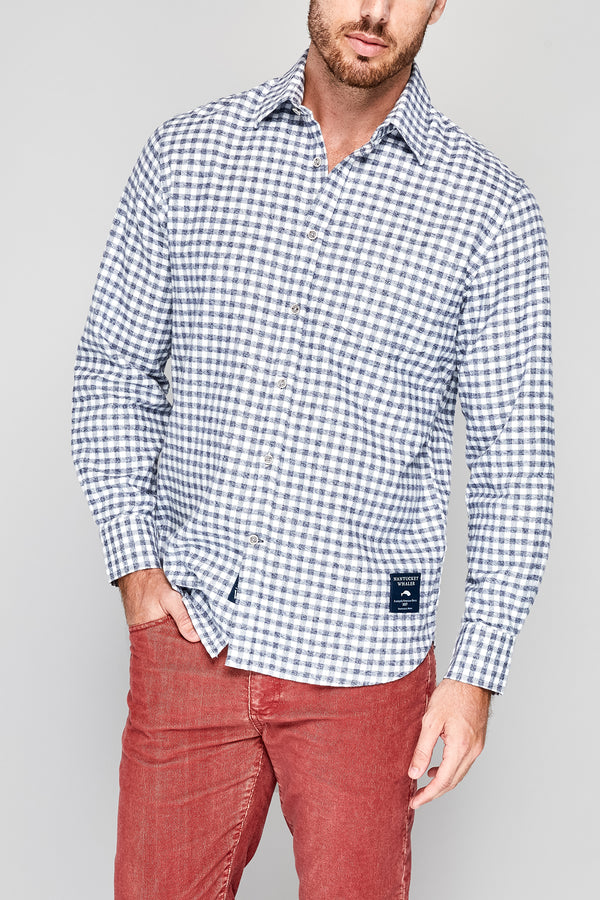 Starboard LongSleeve Check Flannel Shirt