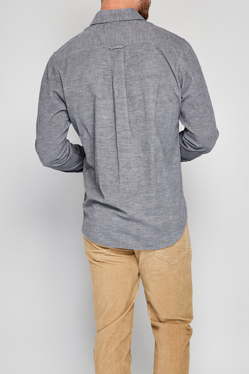 Beam Long Sleeve Heather Corduroy Shirt