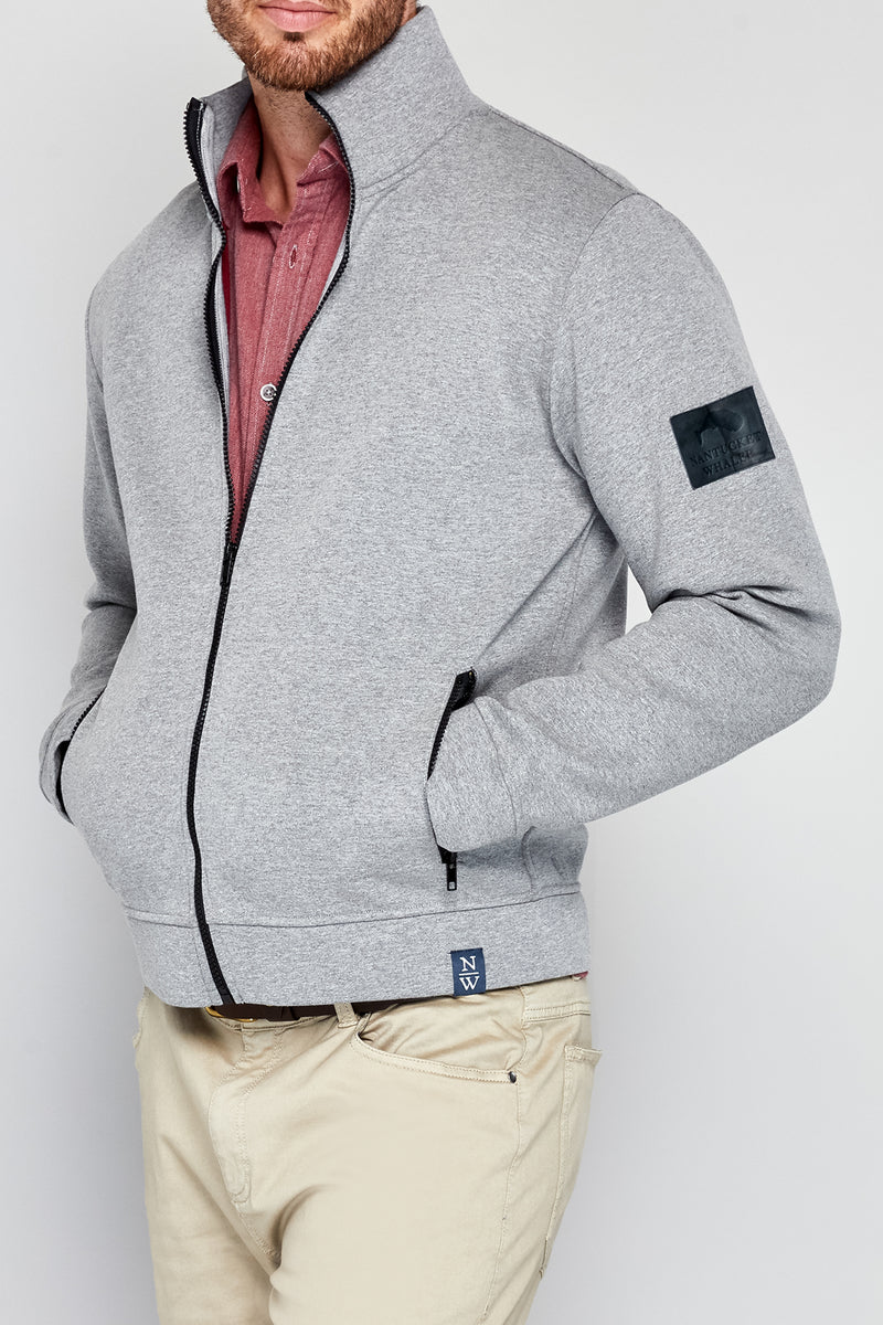 Clew Double Face Scuba Knit Jacket