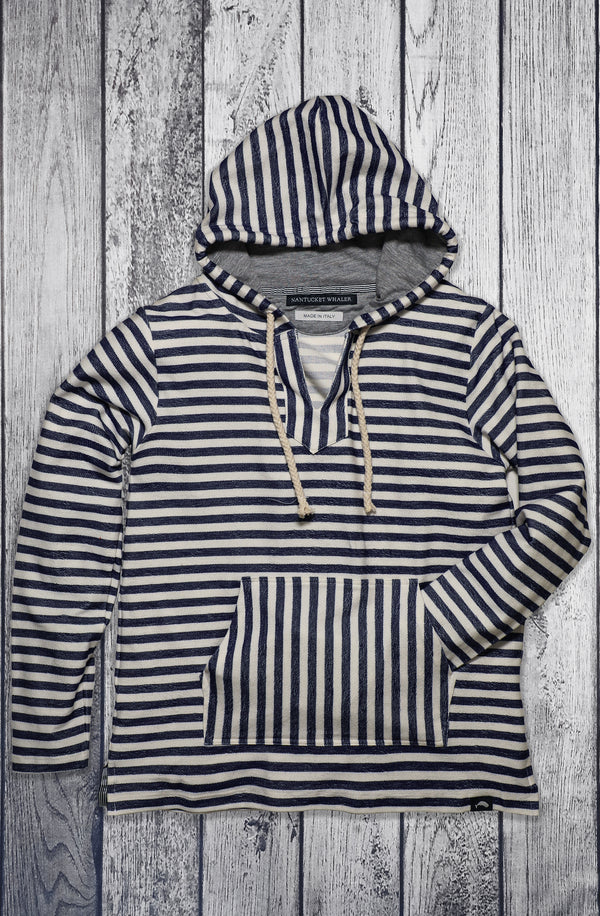 Women's Gale Reverse Terry Stripe Hoodie