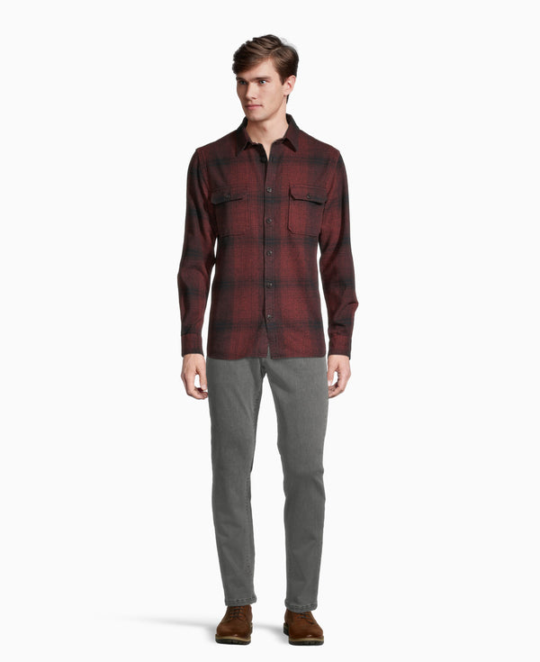 Grey Fog Flannel