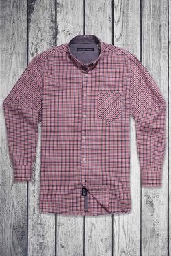 Lighthouse Long Sleeve Plaid Shirt