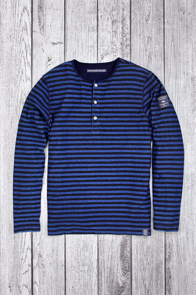 Luff Long Sleeve Stripe Henley