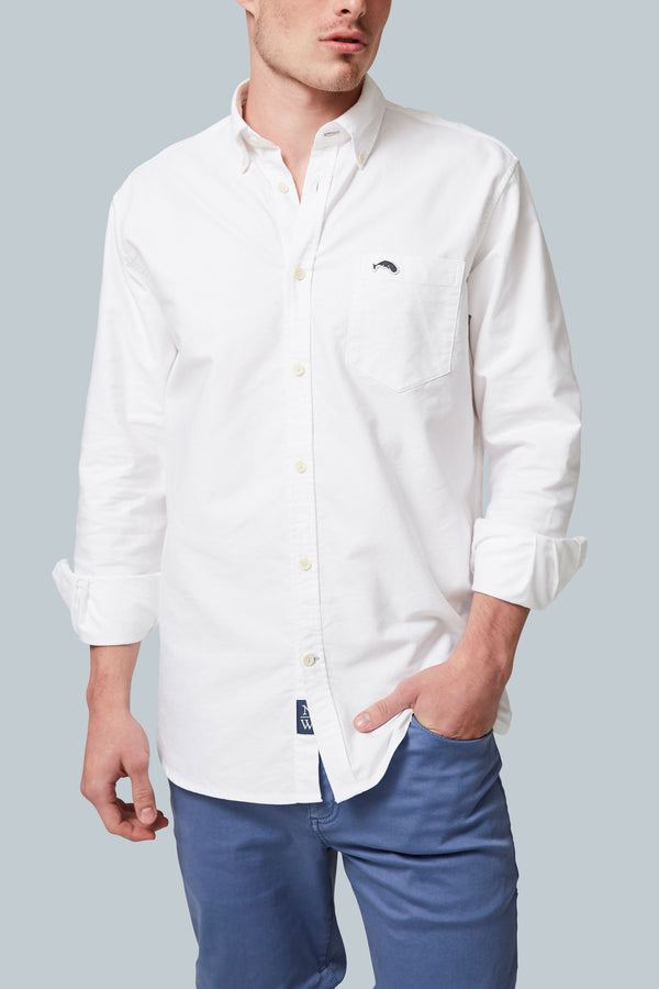 THE SCHOONER Multi-Wash Long Sleeve Oxford