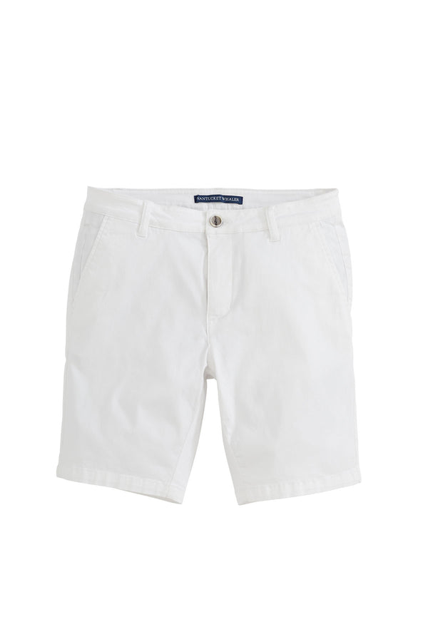 Rover Stretch Slim Fit Garment Dye Chino Short