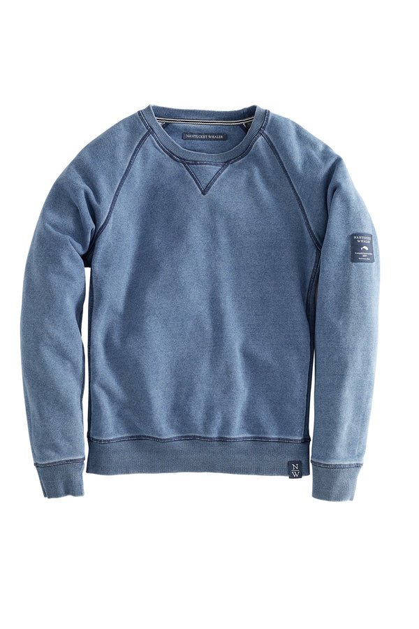 Spinnaker Long Sleeve French Terry  Knit