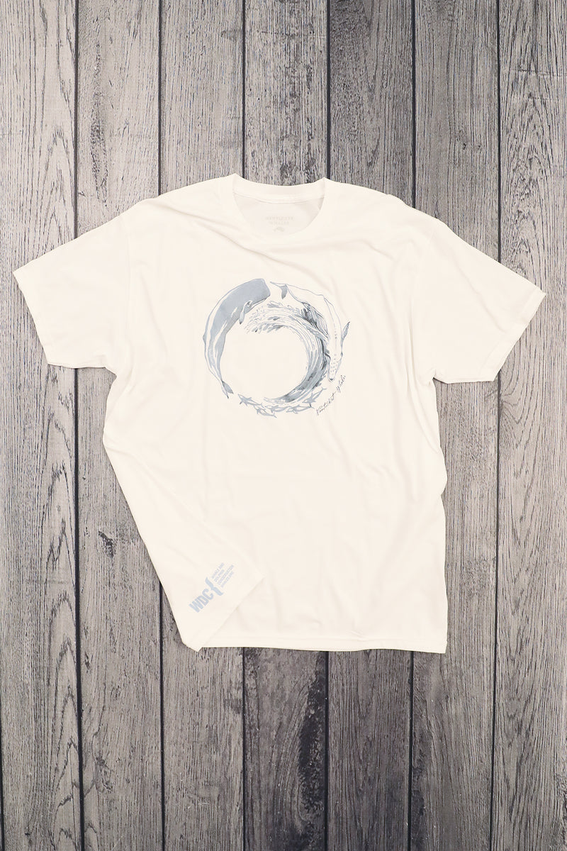 THE SEA CIRCLE Sea Creature Print Short Sleeve Tee