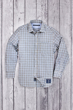 Tiller Long Sleeve Boucle Check Shirt