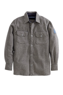 Vang Wool Check 2 Pocket Shirt Jacket