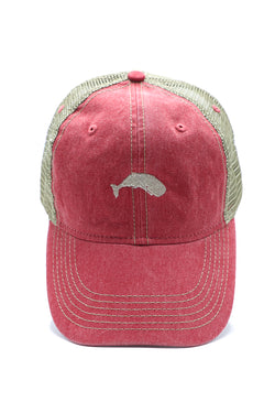 Landlubber Pigment Washed Mesh Back Trucker Cap