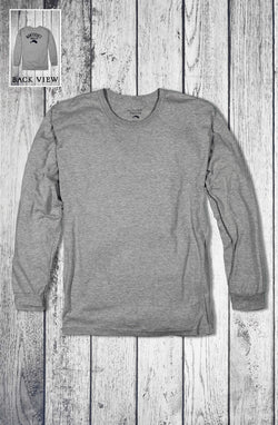 Whaler Long Sleeve Back Print Tee