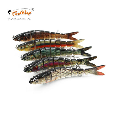 Fishing Wobblers 8 Segments Swimbait